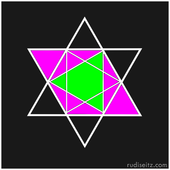 Musical Star of David: Augmented/Diminished Intersection