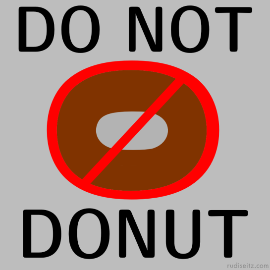 DO NOT DONUT