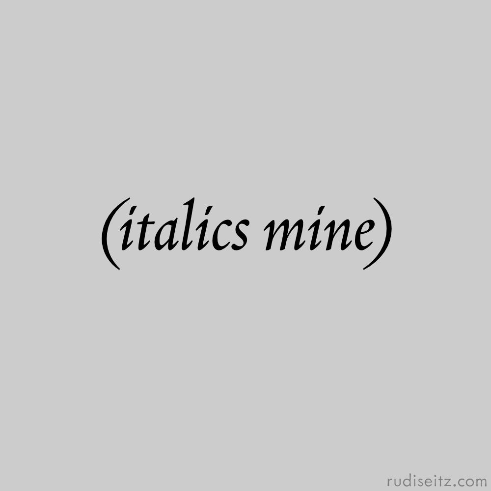 ItalicsMine