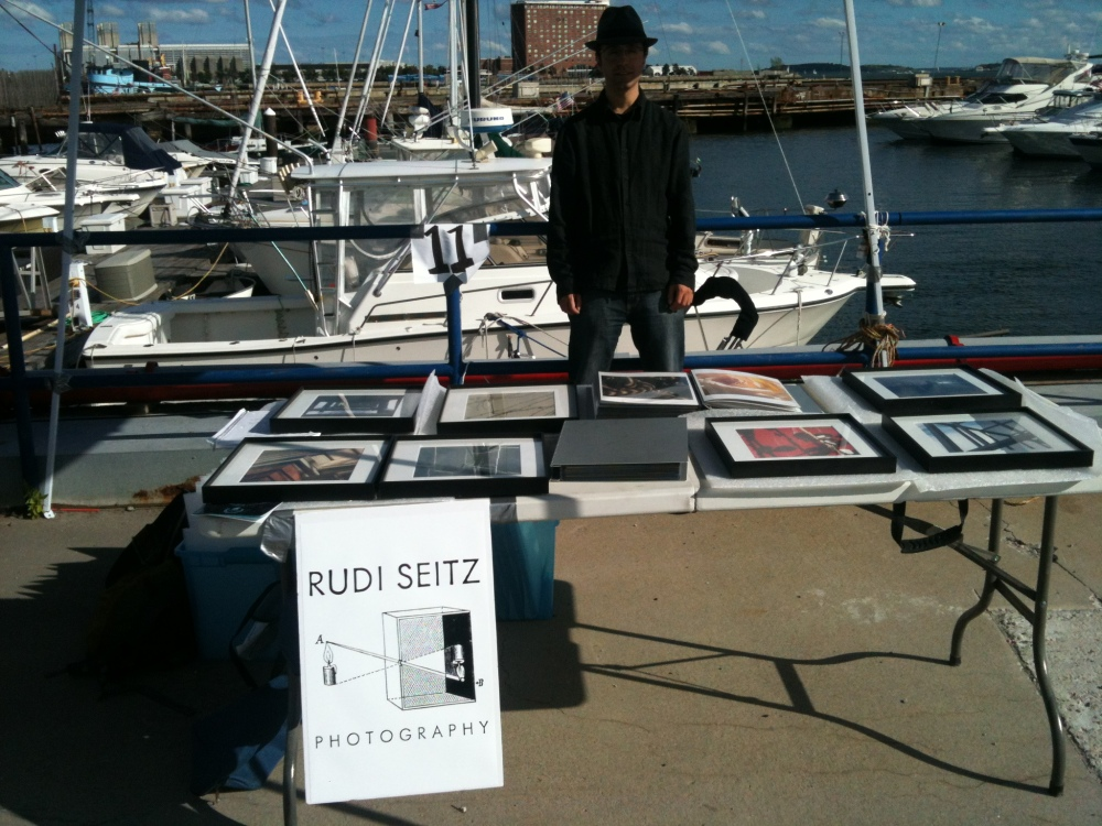 Rudi At HarborArts 2013
